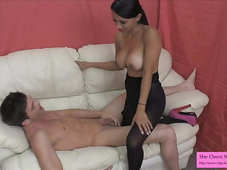 Sex Therapist Jasmine Shy 2 Lance Hart HJ Ballbusting
