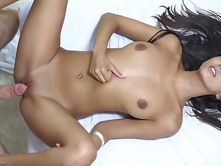Sensual blowjob by Gianna Dior is turned into fantastic doggy sex