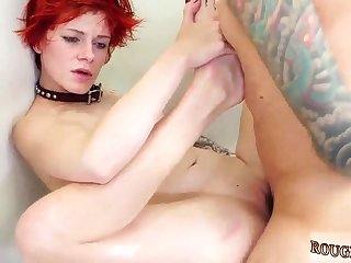 Bondage fisting blonde and girls dominates guy sex first