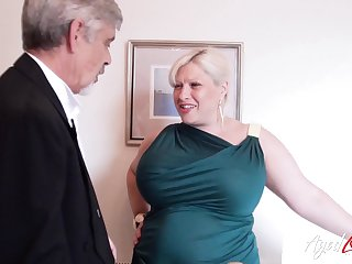 Old man loves them BBW and that lady has got big ass titties