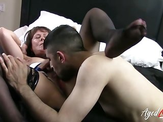 AgedLovE Mature Lady Got Hardcore Pussy Fuck