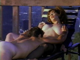 Amateur retro video with busty wife Bunny Bleu in nylon stockings
