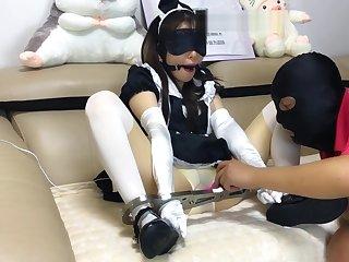 Chinese stocking bdsm