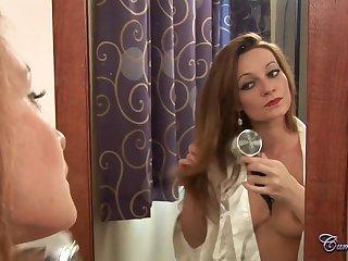 Nikita Law gets Man Milk In Silky Hair