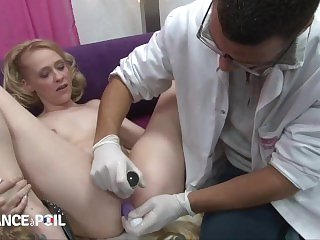 French Anal Exam Leads to Sex