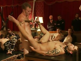 Group Sex - Gay Night on The Upper Floor