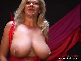 Multiple Cumshots Orgy & Big Tits - Marina P1