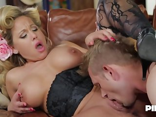 Olivia Austin is a smoking hot milf who has a thing for fucking younger guys