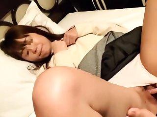 Busty amateur in panties sucks then anal bangs pov