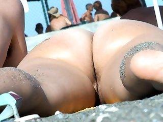 Mature Nude Beach Voyeur Milf Amateur Barricade Pussy