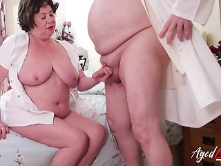 Wet mature sexhole in need of hardcore sexual intercourse gets what deserves