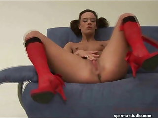 Spermastudio: Cum Orgy Extreme - P1 - Black Lady