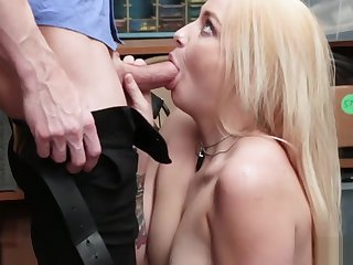 Officer pounded Carmen from behind