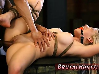 Hd vintage bondage Big-breasted blond hotty Cristi Ann is